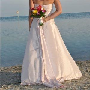 Formal Davids Bridal Dress.  Only worn once!